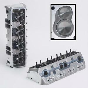 Brodix 1021000 Ik 200 Assembled Cylinder Head For Chevy 327 350 400 Small Block