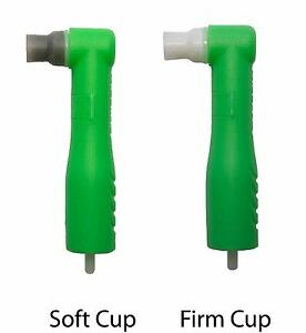 500 Dental Disposable Prophy Angles Firm Cup Latex Free