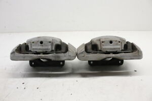 2013 Bmw 535i Front Brake Caliper Set Pair