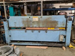 Roto die Model 10 Hydraulic Press Brake Bender 10 X 16 Ga