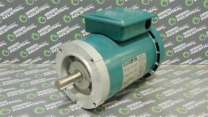 Used Reliance Electric P14g9256h Ac Motor 1 Hp 1725 Rpm 230 460v