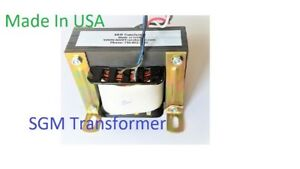 100 Va 6 Volt Class 2 Industrial Control Step Down Transformer 120 6v 100va