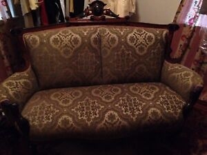 A Victorian Greek Revival Couch Settee Love Seat