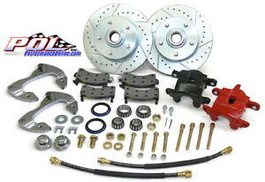 55 57 Chevy Belair Nomad 210 150 Front Disc Brake Conversion