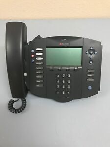 polycom Soundpoint Ip 500 Poe Voip Phone 12 Units Refurbished Power Adaptor
