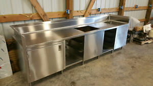 New Custom Made Stainless Steel Beverage Counter With Free Shipping