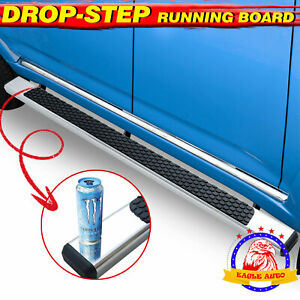 Fit 09 18 Dodge Ram 1500 2500 3500 Crew Cab 4 5 running Board Side Step Nerf Bar