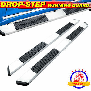 Fit 09 18 Dodge Ram 1500 Crew Cab 5 5 Inch Running Board Side Step Nerf Bar S s