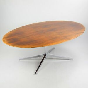 1970 S Florence Knoll 78 In Rosewood Dining Conference Table Eames Saarinen