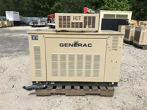 Generac Propane Generator 15kw Single Phase Weather Proof Enclosure