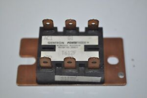 Gentron Powertherm Thyristor Power Module Model T612f 61150 031083