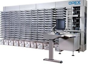 Opex Mail Matrix Machine intelligent Mixed Mail Sorter