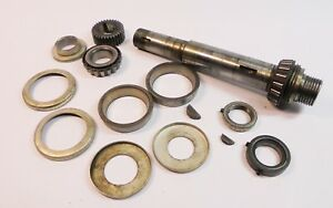 Atlas Craftsman 10 Lathe Complete Headstock Spindle Assembly