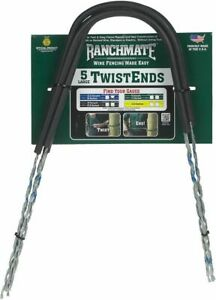 Ranchmate Insulated Twistend Wire Fencing L 5 Ct Blue 18 Barbed Or 12 5