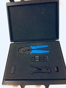 Ideal La3634 1 Crimpmaster Set 11 Dies Cable wire Cutter New Unused