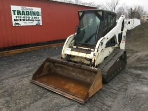 2007 Bobcat T190 Tracked Skid Steer Loader W Cab Joysticks Coming In Soon
