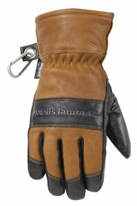 Mens Leather Winter Gloves Water resistant Hydrahyde 100 Gram Thinsulate