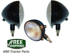 Headlight Set Work Lamp John Deere 40 320 420 430 Tractor 6v