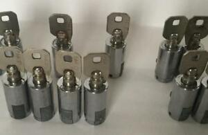 10 Ace Cylinder Locks Soda Snack Machines T Handle