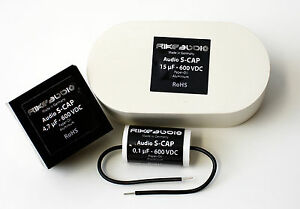 Rike Audio S cap Paper In Oil Capacitor 600v all Values 1pcs