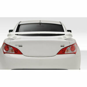 Coupe 2dr Rs 1 Rear Wing Trunk Lid Spoiler 1 Piece Fits Hyundai Genesis 10