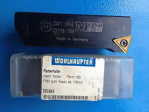 Wohlhaupter 1 X Plate Holder 4 11 16 7 27 32in New