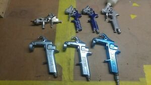 Binks Paint Gun Bbr Frame Lot And Other Brands For Parts