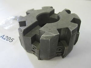 Valenite B 4 8r 15p Carbide Insert Milling Machine Cutter Mill Tooling