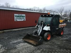 2006 Bobcat 5600 Toolcat 4x4 Diesel Utility Vehicle W Loader High Flow
