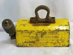 Allegro Industries 9401 28s Heavy Duty Lifting Magnet Lift Weight 900 Lbs Fla