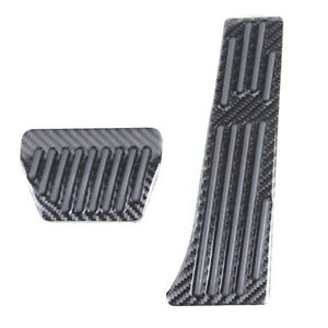 Carbon Fiber Pedal Pad Fuel Gas Accelerator For Bmw Z4 F30 F10 F20 E60 E90 X1 X5