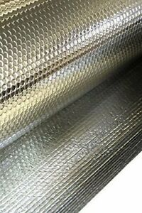 Sola 1 2m Wide Reflective Bubble Core Double Foil Thermal Barrier Insulation