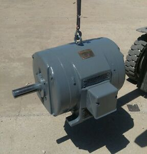 Fresh Rewind General Electric 30 Hp 1200 Rpm 480 Volt 3 Phase Motor