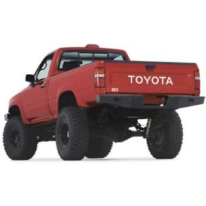 Warn 68490 Rock Crawler Rear Bumper For 89 95 Toyota Pickup Excludes Tacoma