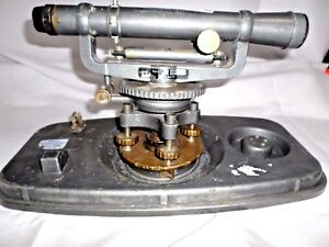 David White 8114 Surveyors Transit Level Theodolite Construction Tool