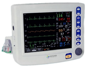 Criticare 81h001pd Ncompass Patient Monitor With Co2 And Printer Cat81h001pd