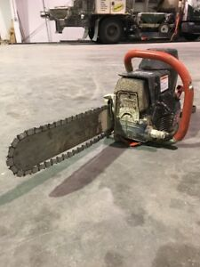 Ics 14 680gc Gas Diamond Chain Saw Package Includes Guidebar Chain Used