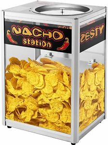 Commercial Grade Nacho Chip Warming Station Popcorn Machine Concession Stand