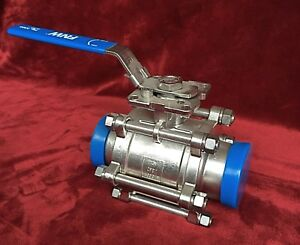 3 Stainless Steel Sanitary Ball Valve