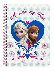 Disney Frozen Block Notebook Notepad Notepad Spiral Notebook The Ice Queen
