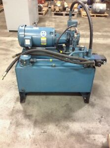 Bosch 10 Hp Hydraulic Pump And Tank 100 Gallon Tank Loc ym