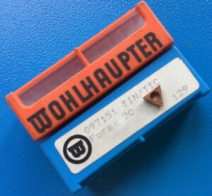 Wohlhaupter 10 X 097151 Tin tic Form 20