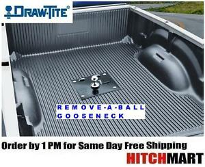 30k Draw Tite Remove A Ball Gooseneck Trailer Hitch W 2 5 16 Ball 6300