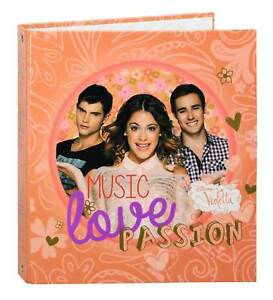 Disney Violetta Binder Ring Notebook College School Folder