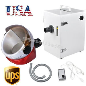 Usa 370w Dental Digital Dust Collecting Collector Vacuum Cleaner Suction Base