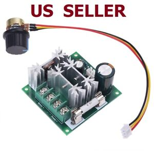 6v 90v 15a Pulse Width Modulator Pwm Dc Motor Speed Control Switch Controller