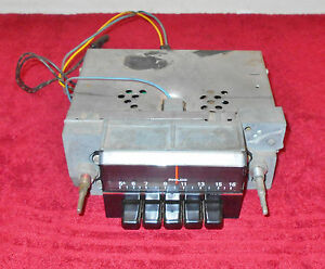 1971 Mustang Mach 1 Boss Grande Cougar Xr7 Convertible Orig Philco Dash Am Radio