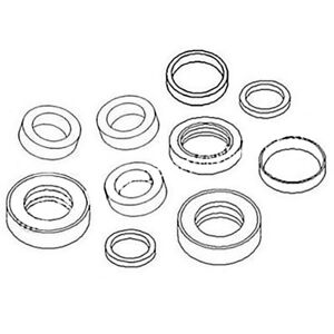 1057255 Excavator Boom Cylinder Seal Kit For Caterpillar 307