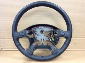 96 97 98 99 00 01 Integra Gsr Steering Wheel Black Leather Used Oem