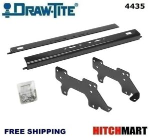 Under Bed Mounting Rail Kit For Under Above bed Gooseneck Trailer Hitch 4435